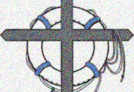 Retrouvaille logo - cross with lifeline